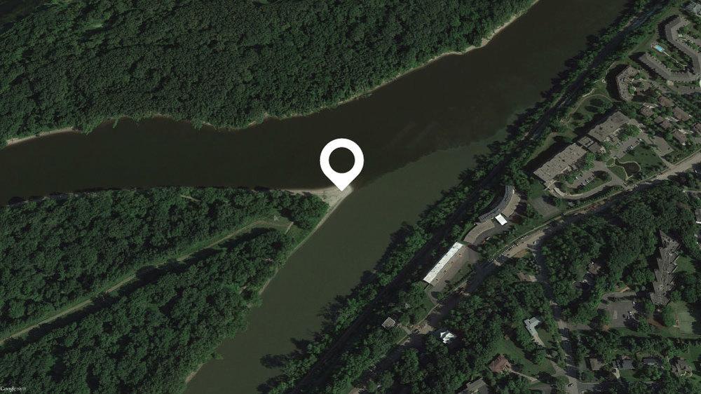"""Pike Island 44°53'48.85""""N ·93°08'59.57""""W"""