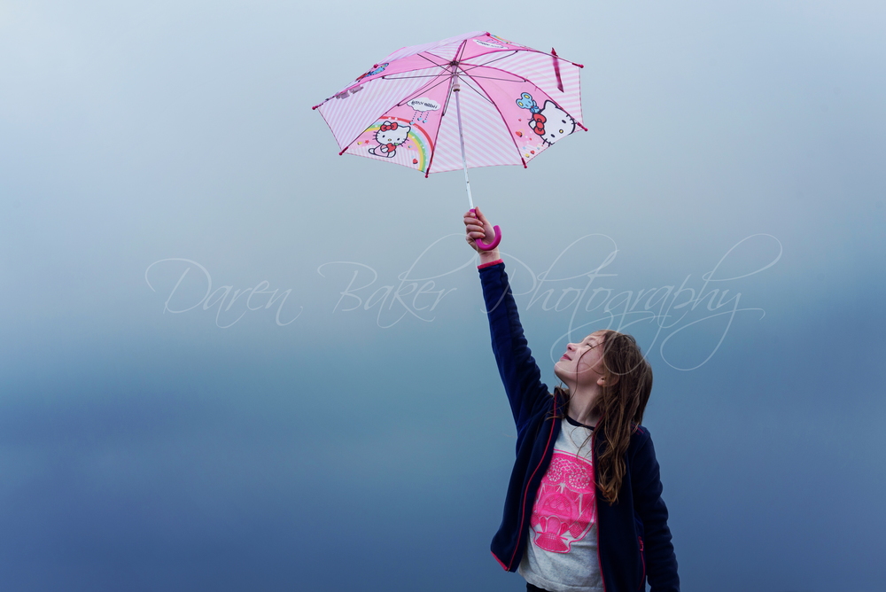 Beach shoot in the rain, Ferring Sussex