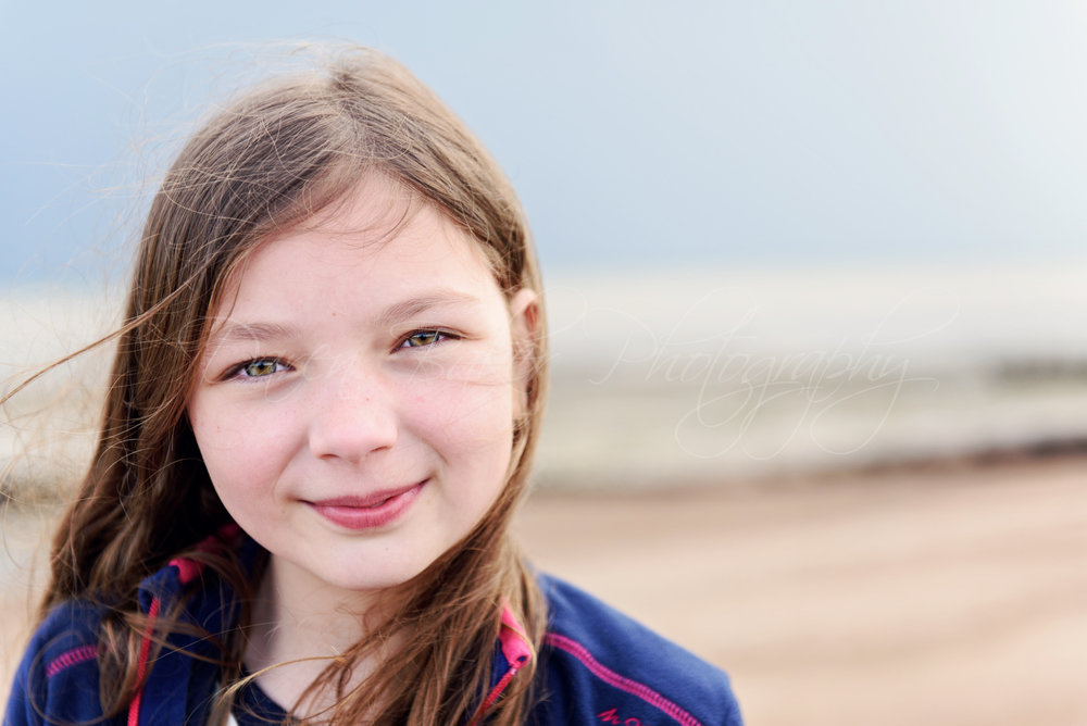 Child portrait, Ferring Beach Sussex
