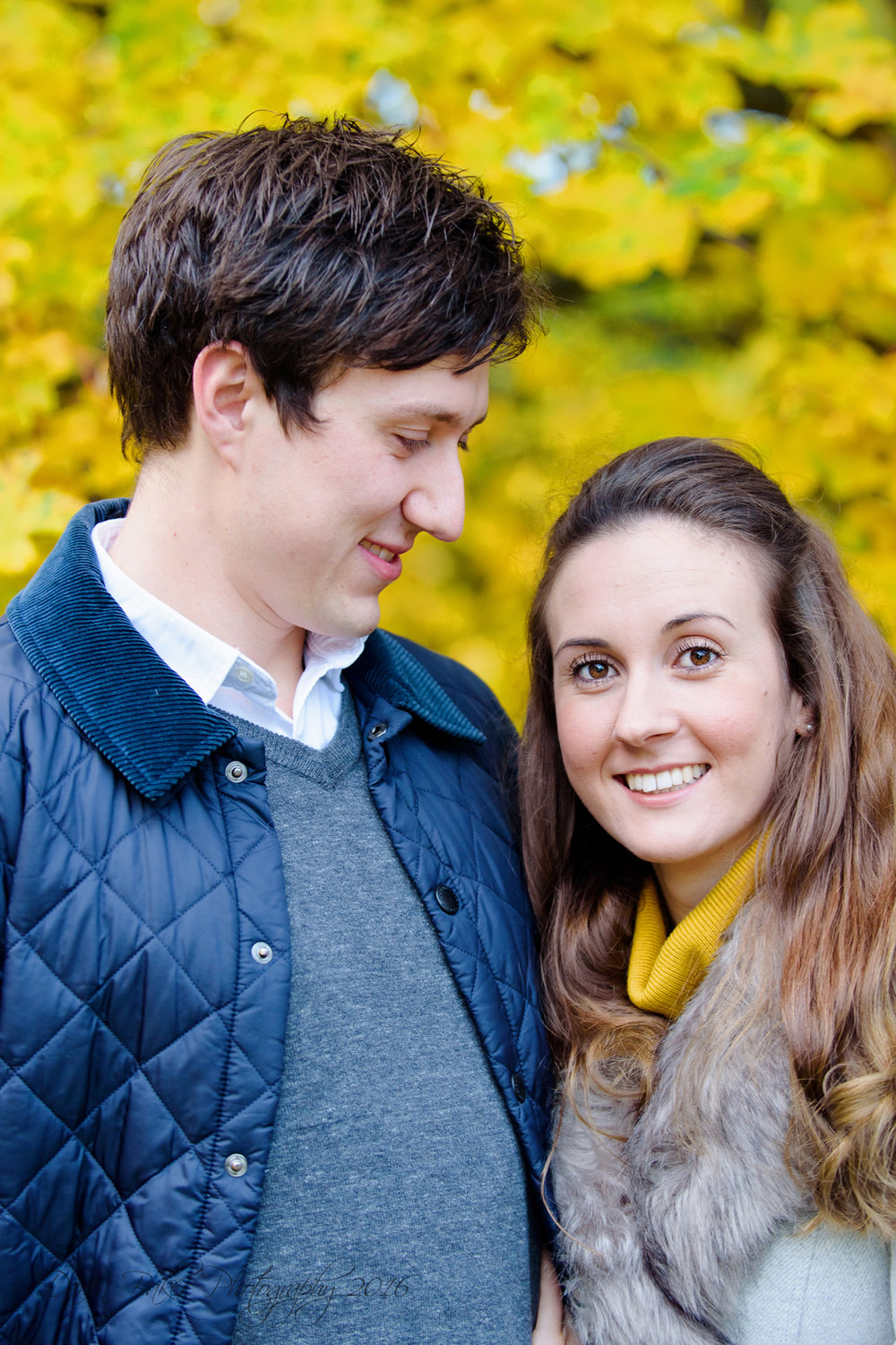 Winter engagement shoot, Horsham Sussex