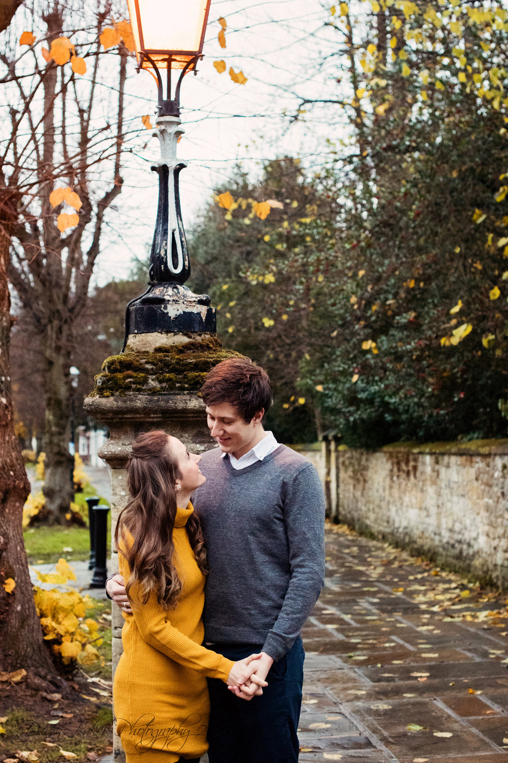Yellow, engagement shoot, Horsham Sussex