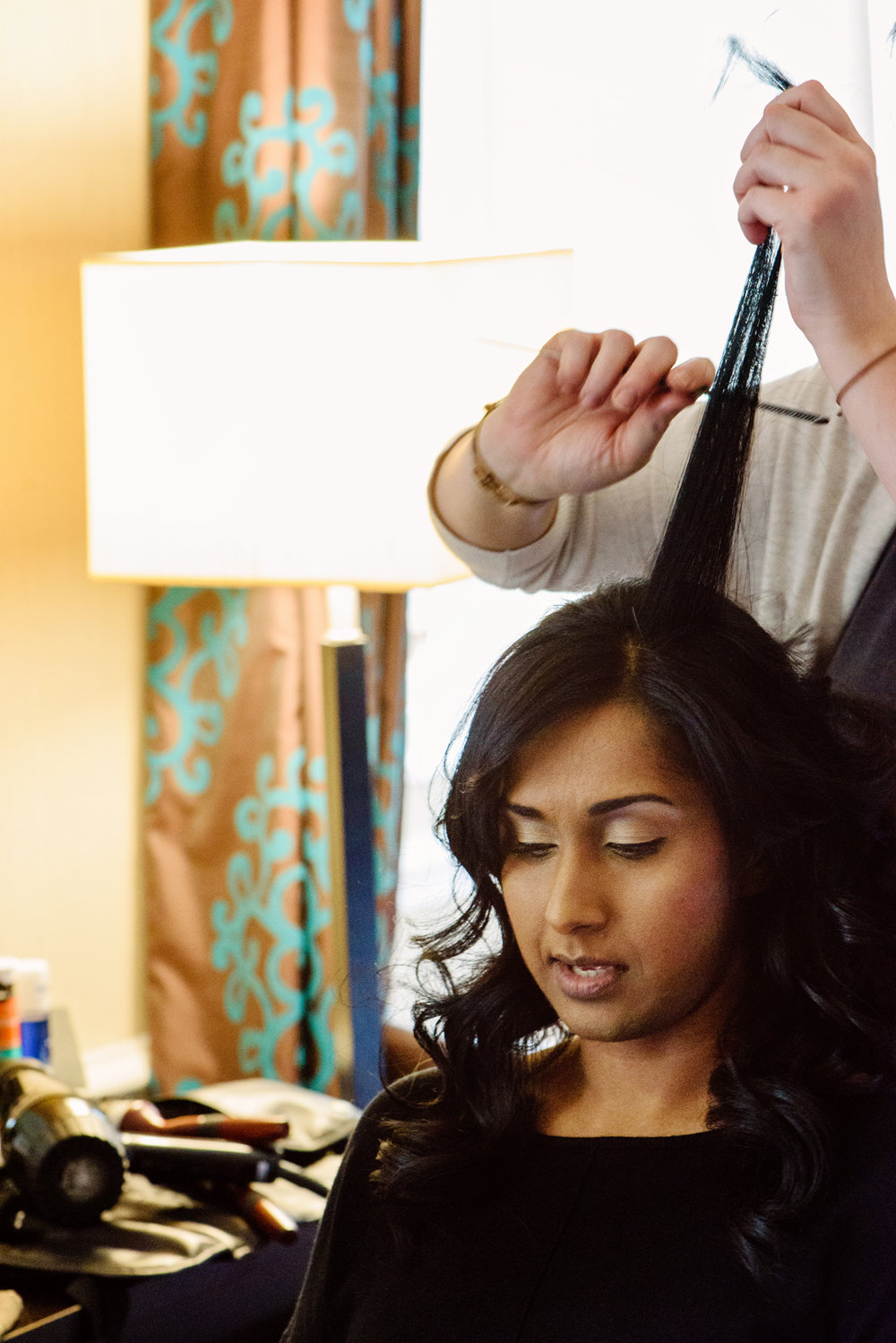 Bridal preparations, wedding Windsor