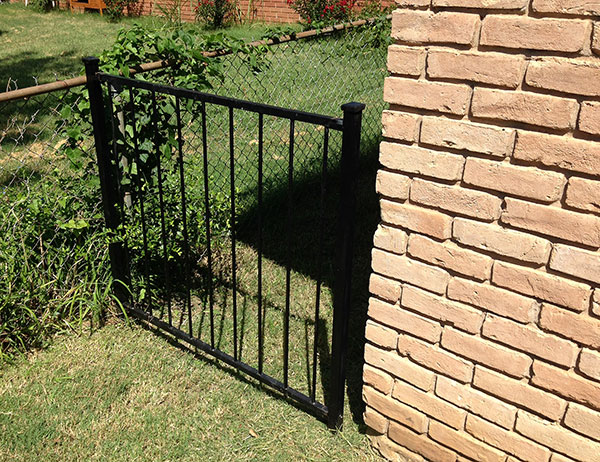 Removable Fence removable fence panels are practical — fossil forge design