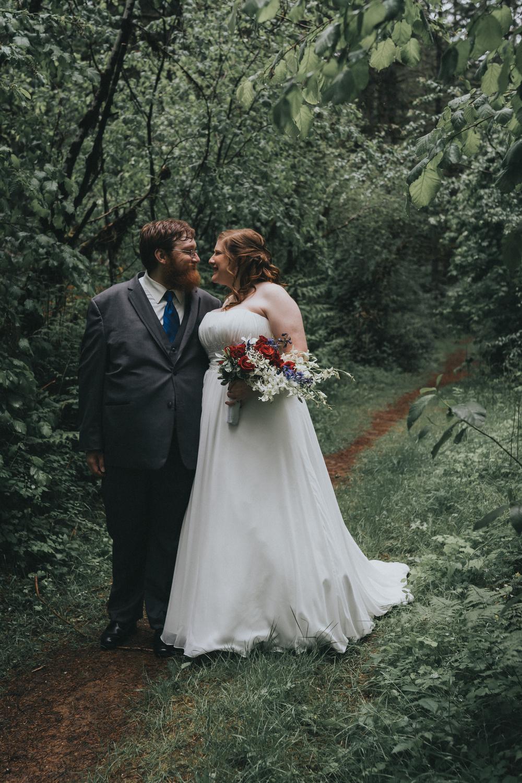 Groom + Bride Portrait