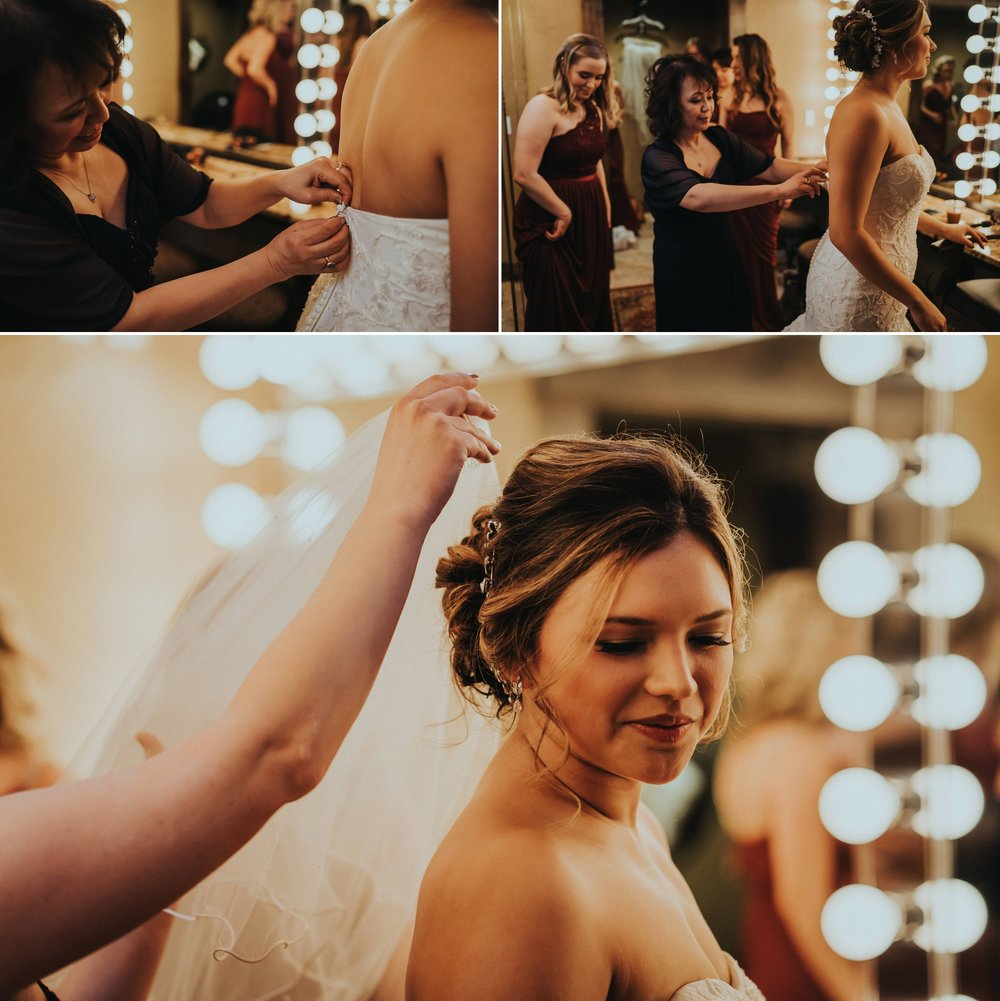 Bride Swiftwater Cellar Wedding