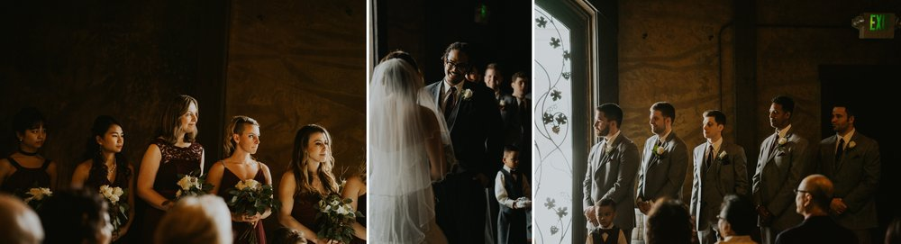 Swiftwaters Cellar Wedding Ceremony photographer