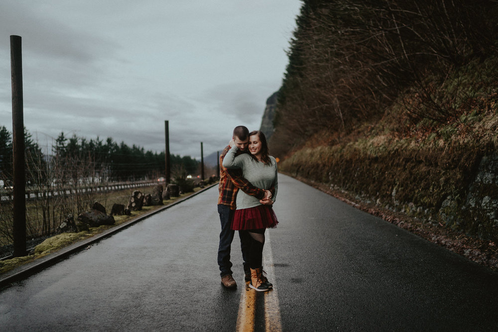 Portland Couple Engagement Photographer