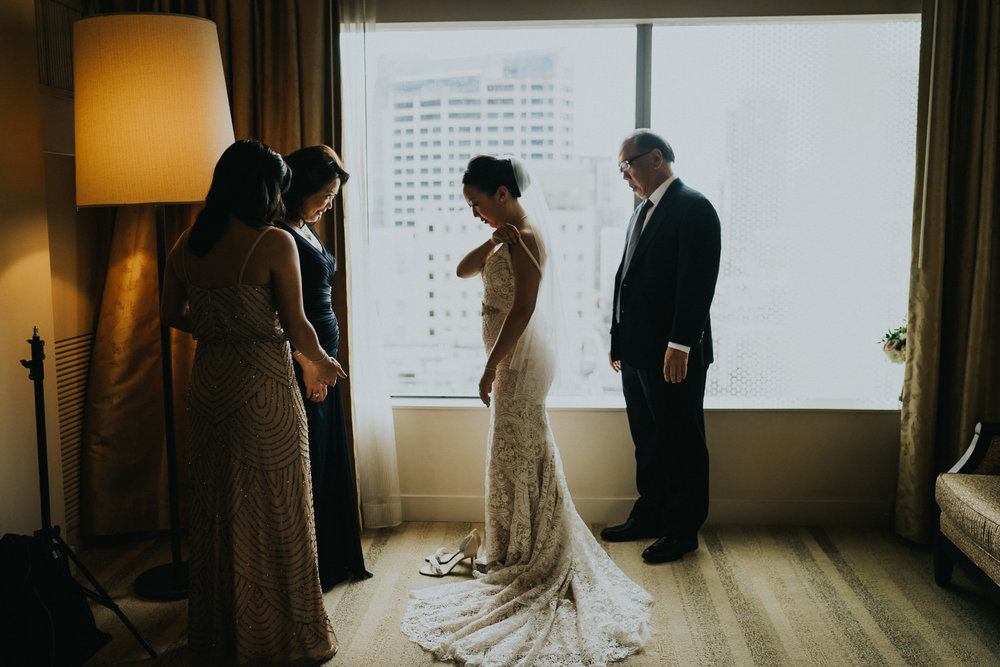 Bride family getting ready Photography