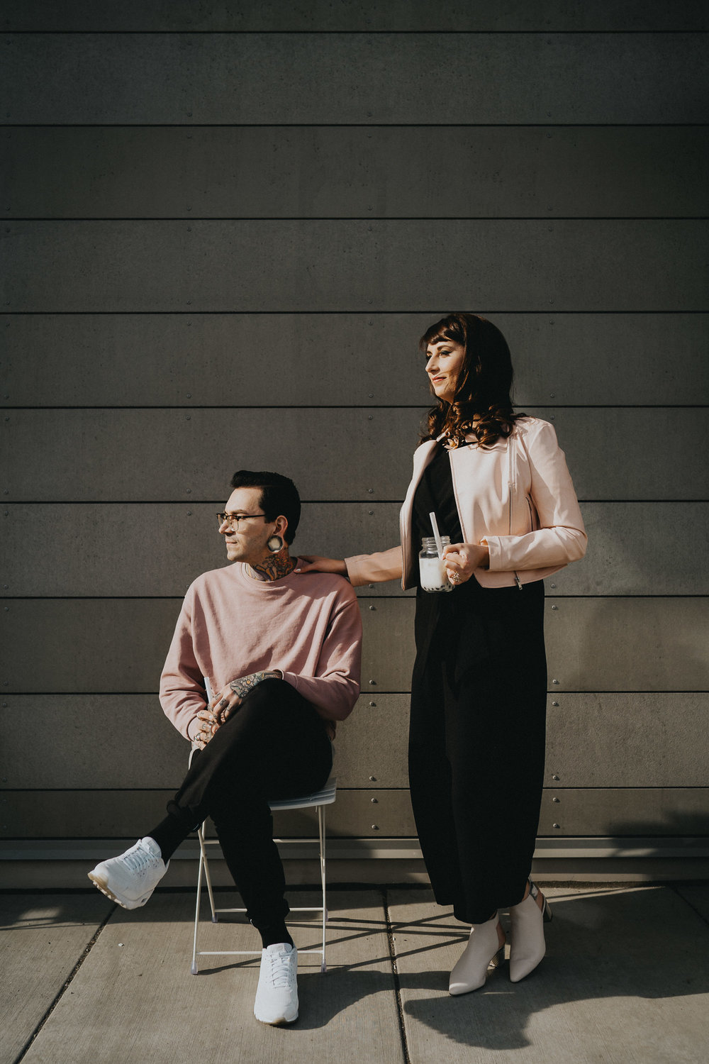 Editorial photography Portland Fashion Hipster