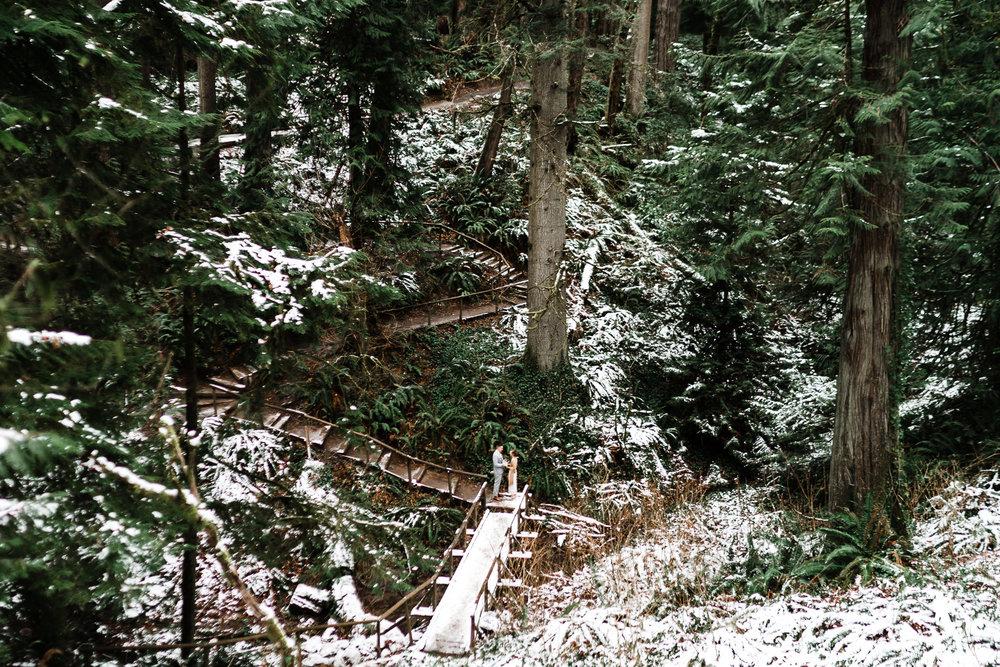 landscape Washington priest point state park