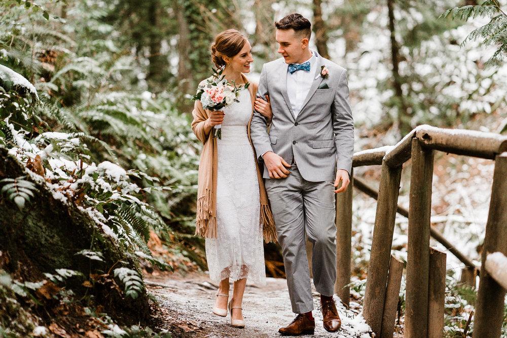 Priest Point Elopement Wedding