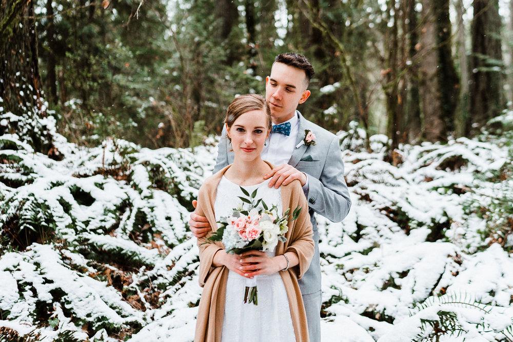 Seattle Elopement Destination Wedding