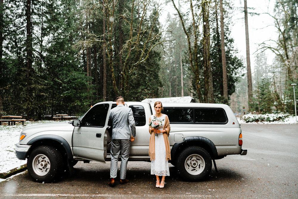 toyota tacoma wedding photographer