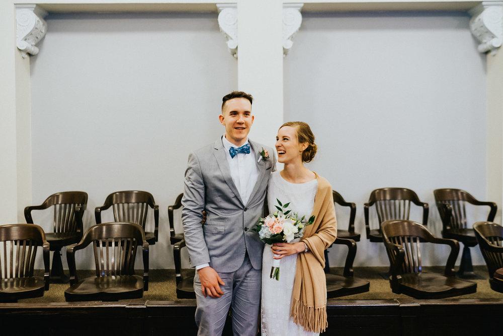 Shelton Courthouse Wedding Photographer
