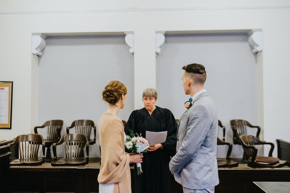 Mason Superior Courthouse wedding photographer
