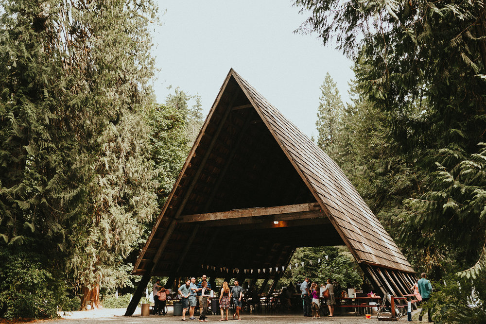 Eagle Fern Park Wedding Campground