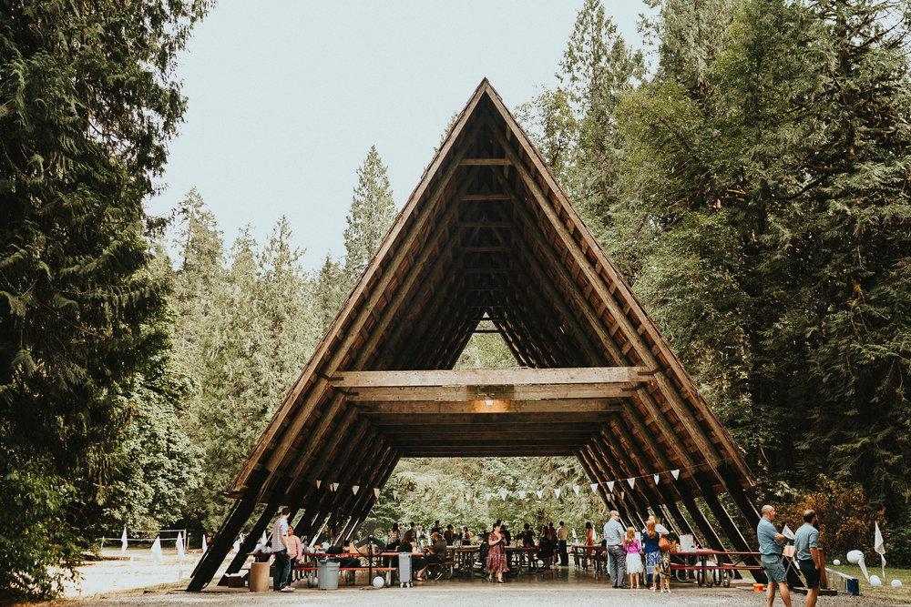Eagle Fern Park Wedding Campsite Portland