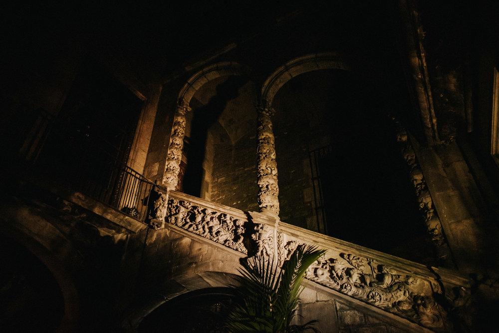 Montcada street Gothic palaces