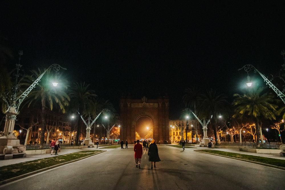 Arc de triumph Barcelona