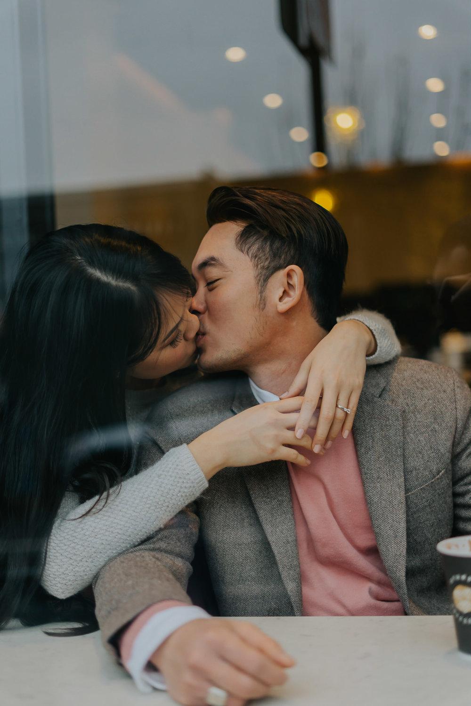 coffee shop engagement inspiration