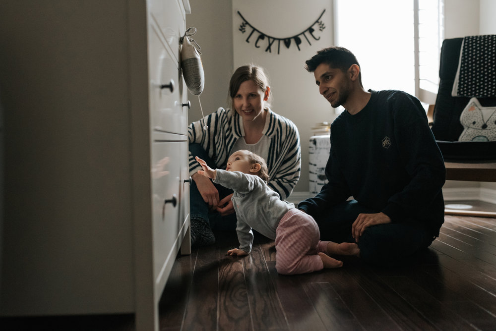 Relaxed In-home Lifestyle Family Session Hamilton / GTA / Niagara