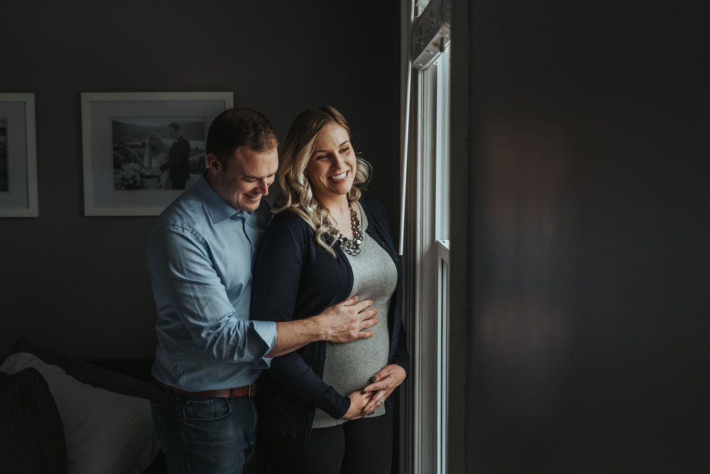 Hamilton Lifestyle In-home Maternity Session