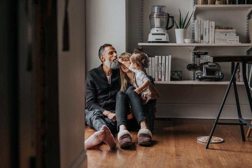 Hamilton in-home family session