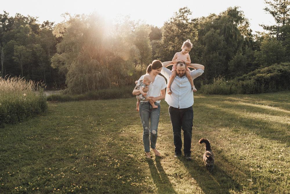 Hamilton & Niagara Family Photography