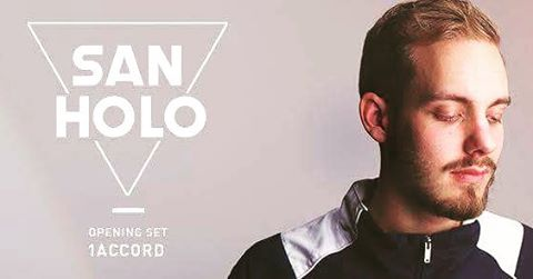 Saturday May 28th we are opening for the amazing San Holo at @audiosf...you don't wanna miss this one!