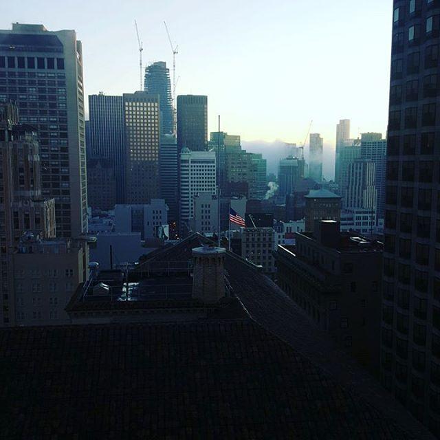 Goodmorning #sanfrancisco #sfmornings #citybythebay