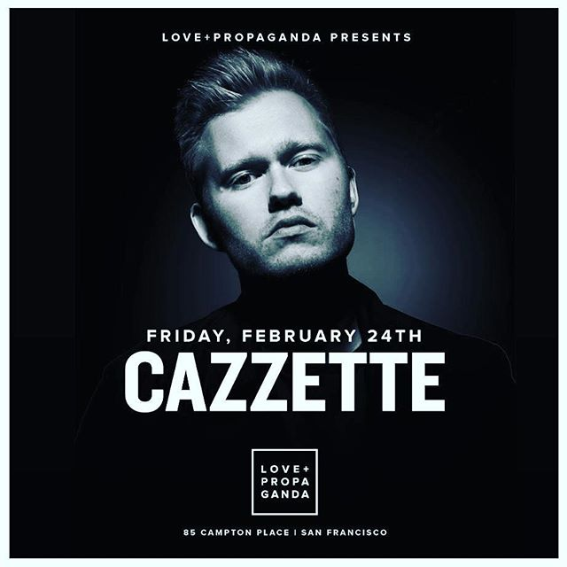 Tonight we hit the decks as support for @cazzette at our favorite SF club @love_propaganda !!!
