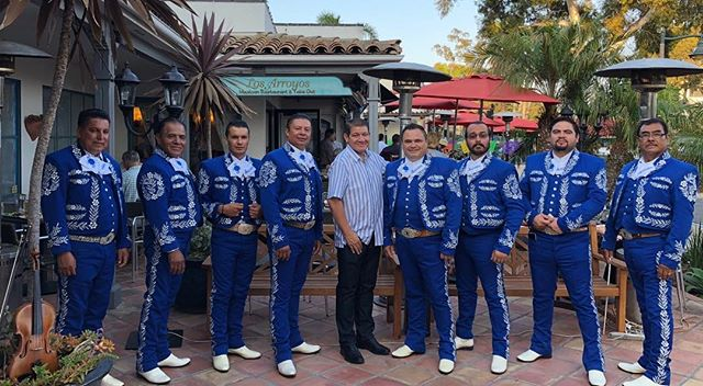 Viva La Fiesta!! Nightly Mariachi at our #Montecito location!  Join us for the celebrations! 😃 . . . #losarroyos #sbfiestas #oldspanishdays #sbevents #losarroyosrestaurants #traditions #mariachimexicanisimo