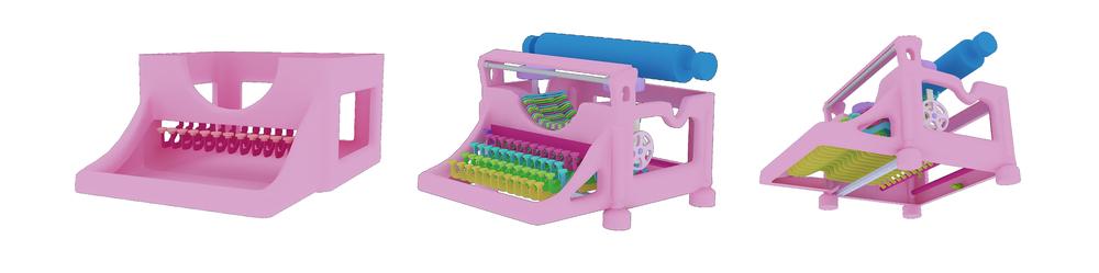 Typewriters Anatomy Wendy Eduarte