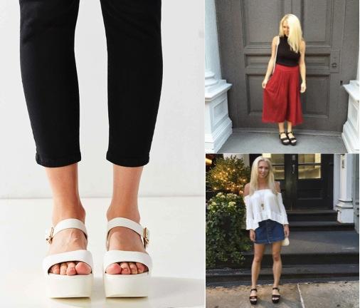 10 Perfect Flatform Sandals for Spring — Melinda a la Moda