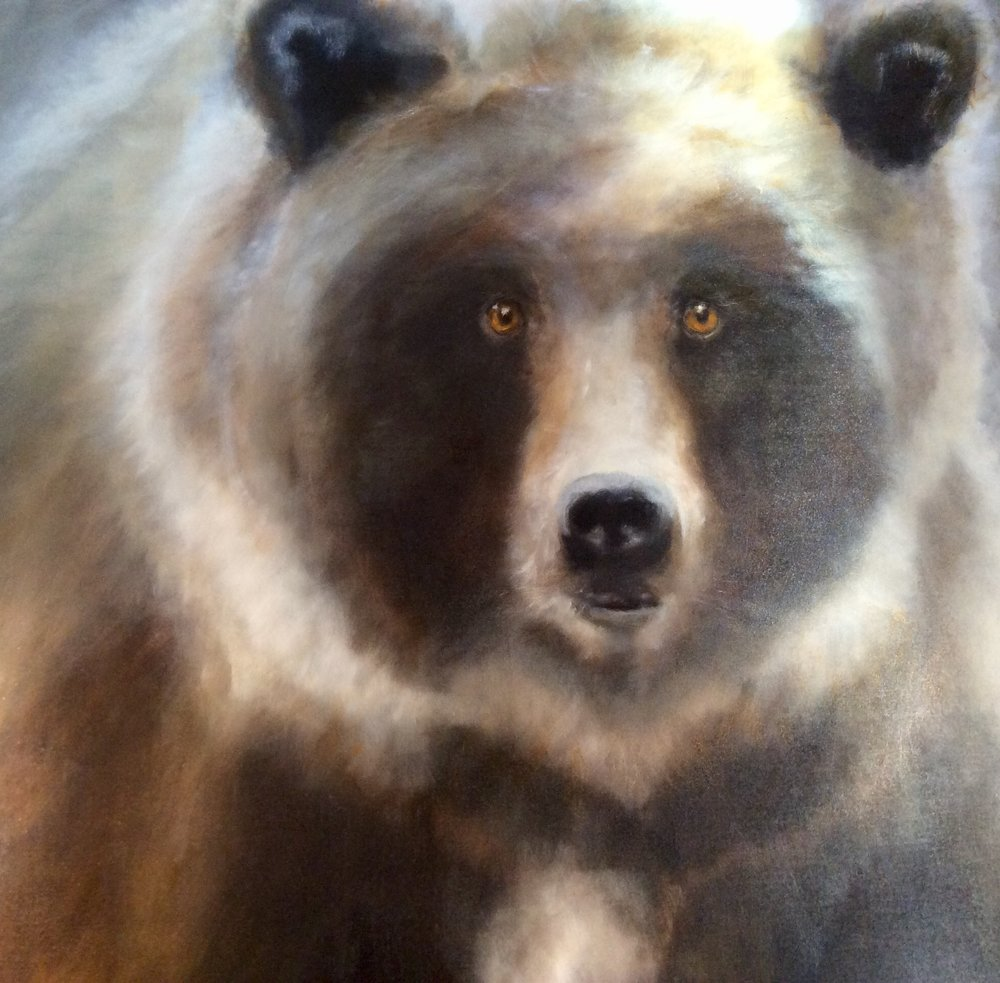 Celtic Bear 48 x 48 Sold