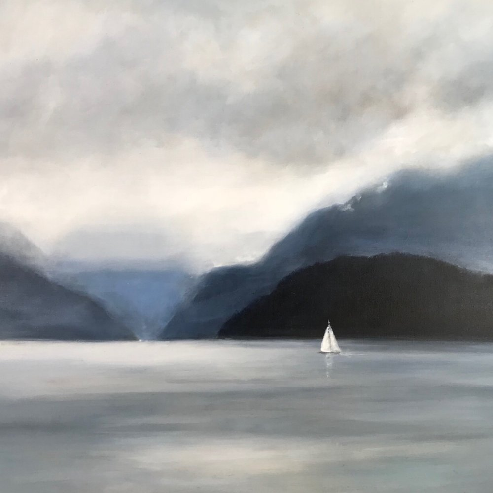 Salish Sea - Nocturne 48 x 60 Sold