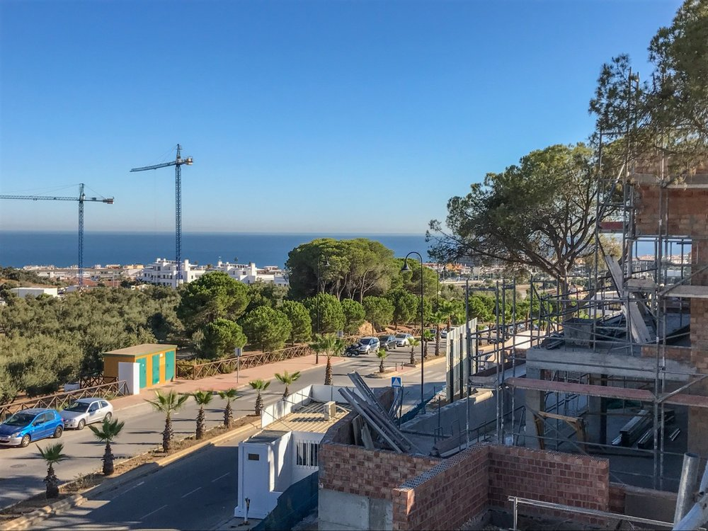 17/09/2017 - View from Villa 8