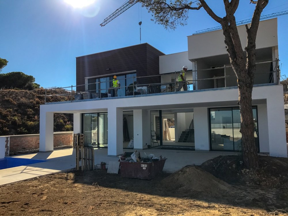 17/09/2017 - Villa 3 almost finished