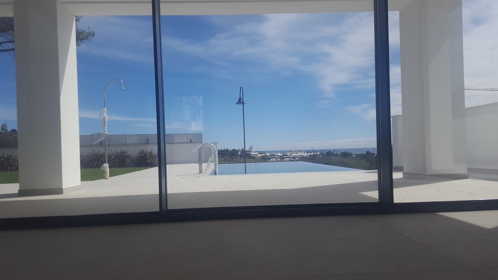 10/03/2018 the view from the living room in Villa 3