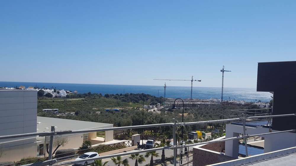 05/04/2018 the view from villa 8 swimming pool