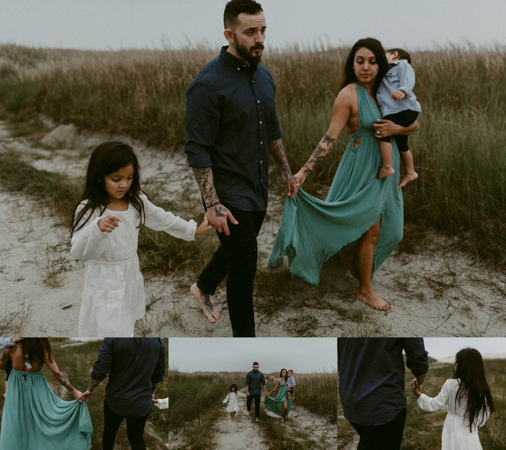 Corpus Christi Photographer - Padre Island Session - Kerlyn Van Gelder Photography specializes in intimate, adventurous, moody session for motherhood portraiture, families, couples, and weddings.