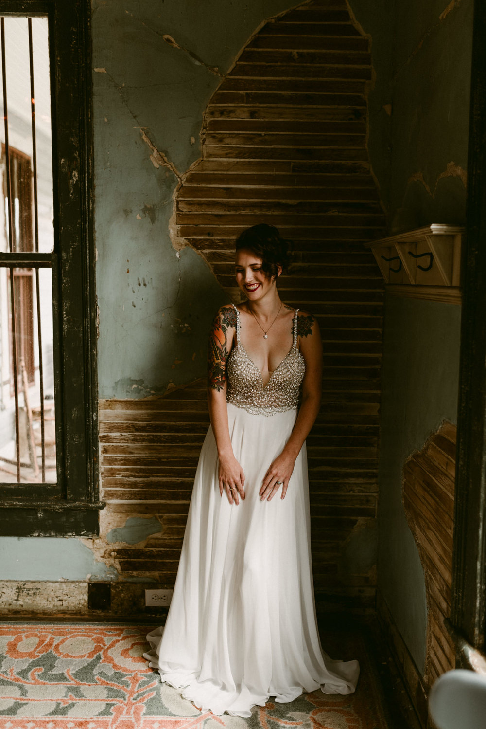 Lustre-Pearl-East-Austin-Texas-Bohemian-Floral-Greenery-Macrame-Desert-Elopement-Enchanted-Rock-Natural-Park-Kerlyn-Van-Gelder-Photography-Austin-Wedding-Photographer