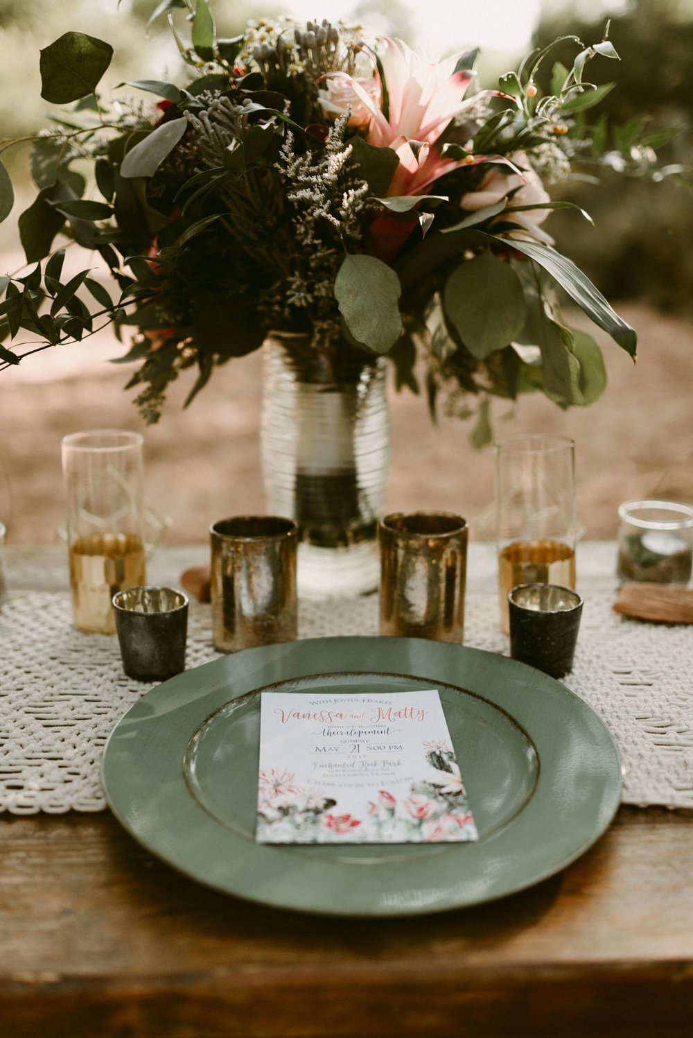Bohemian-Floral-Greenery-Macrame-Southwestern-Desert-Elopement-Enchanted-Rock-Natural-Park-Cactus-Invitations-Kerlyn-Van-Gelder-Photography-Austin-Wedding-Photographer
