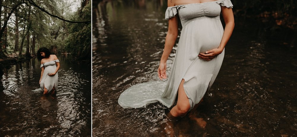 greenery-river-maternity-family-session-cibolo-nature-center-kerlyn-van-gelder-san-antonio-photographer