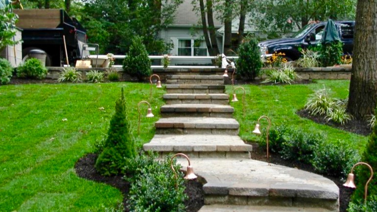 STONE WALKWAY Everything Green Designs