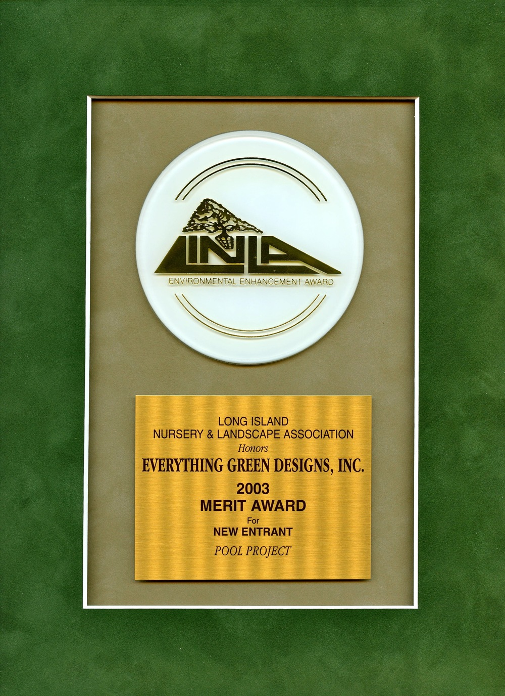 LINLA 2004 Award (Edited)