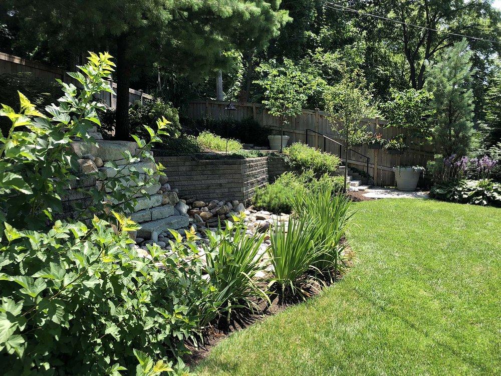 private garden design landscape architecture Columbus Ohio