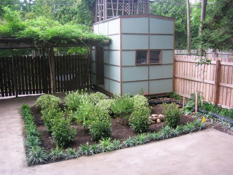 modern rain garden design landscape architecture