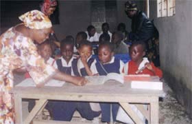 2010 - a teaching session in progress