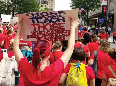 """Isn't it time we start listening to the 20,000 teachers....."